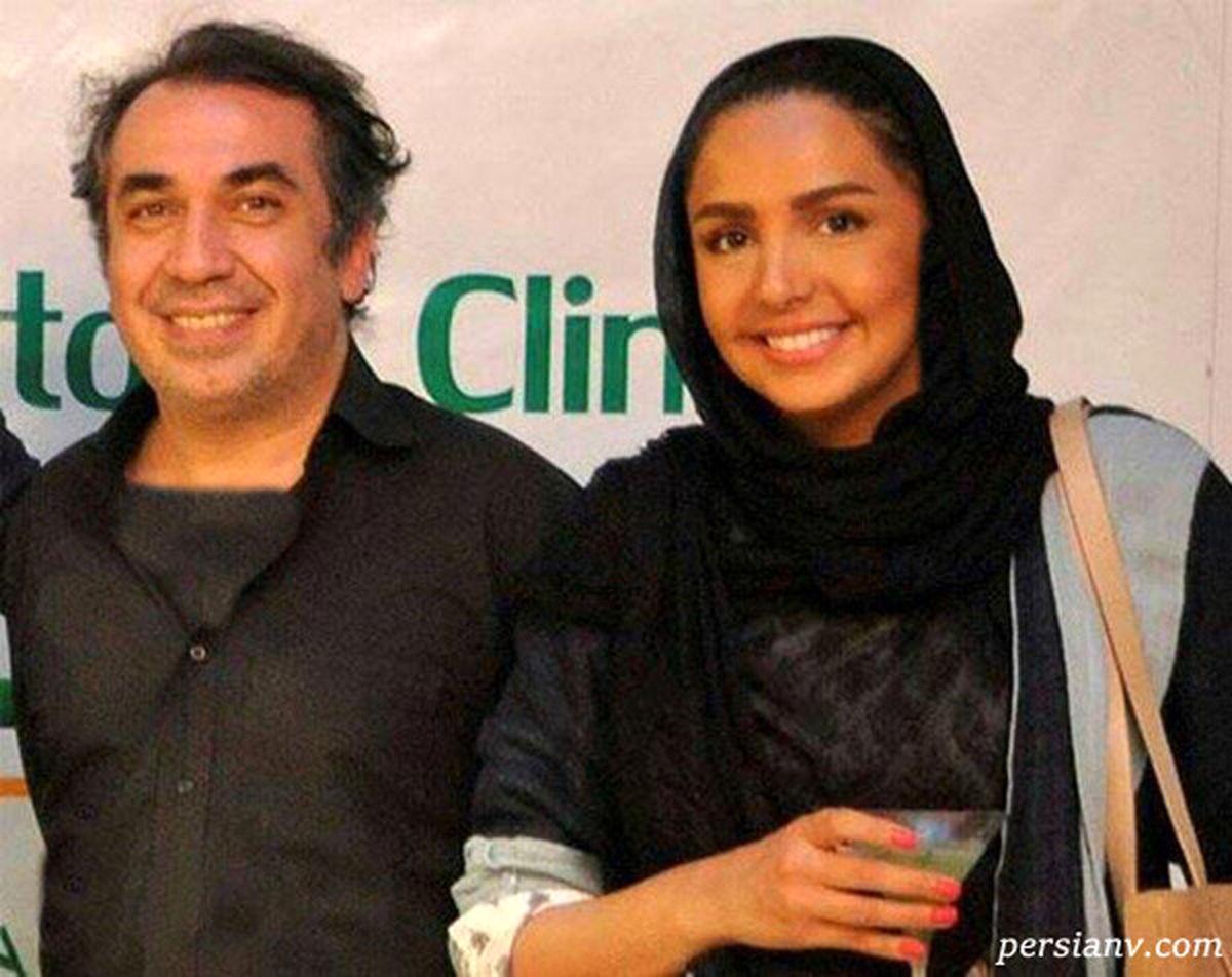 همسر قد بلند و جذاب سیامک انصاری + عکس