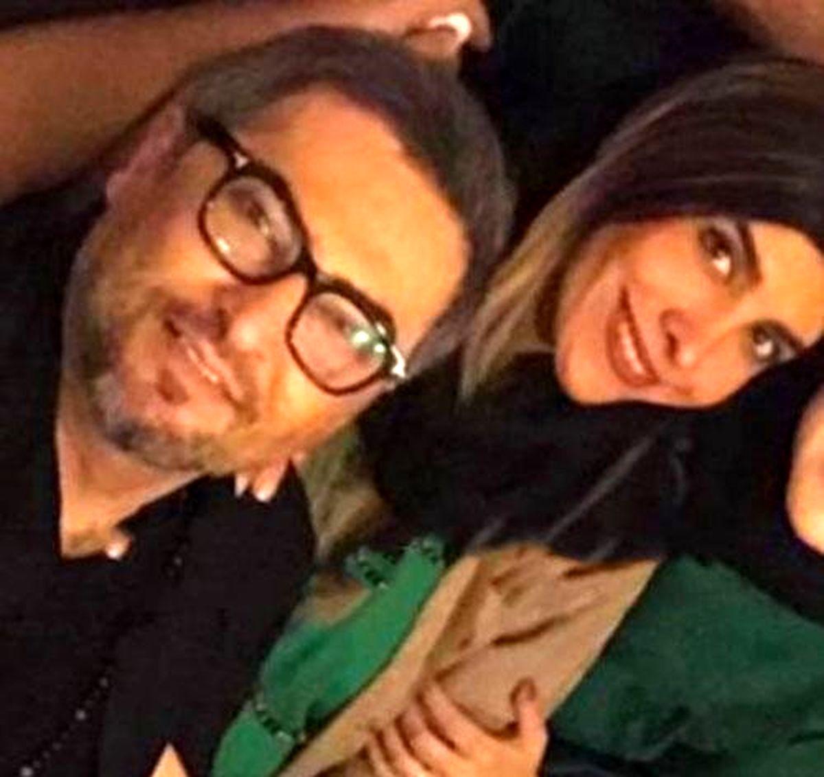 همسر مو بلوند و فشن مهرداد میناوند + عکس