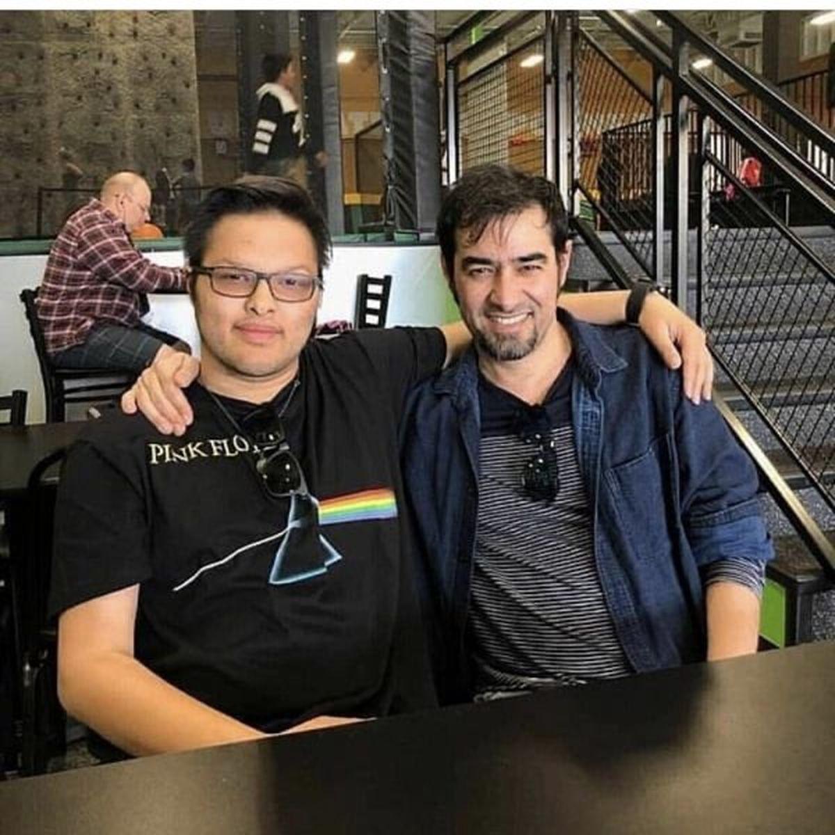 شهاب حسینی در رستوران+ عکس