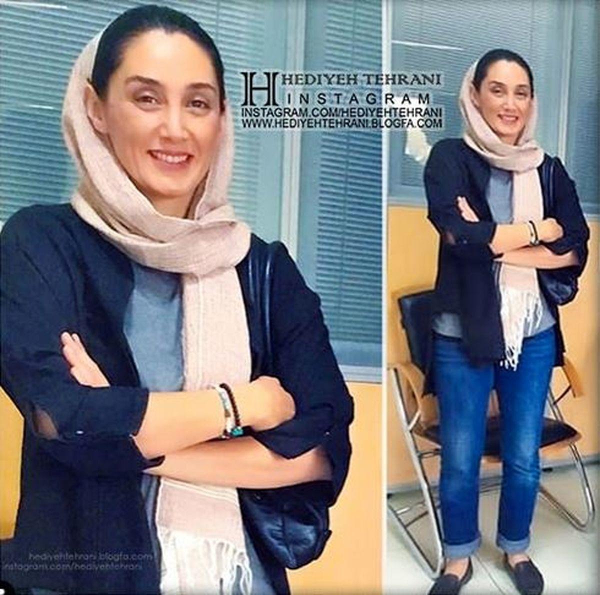 لباس برهنه هدیه تهرانی!+عکس