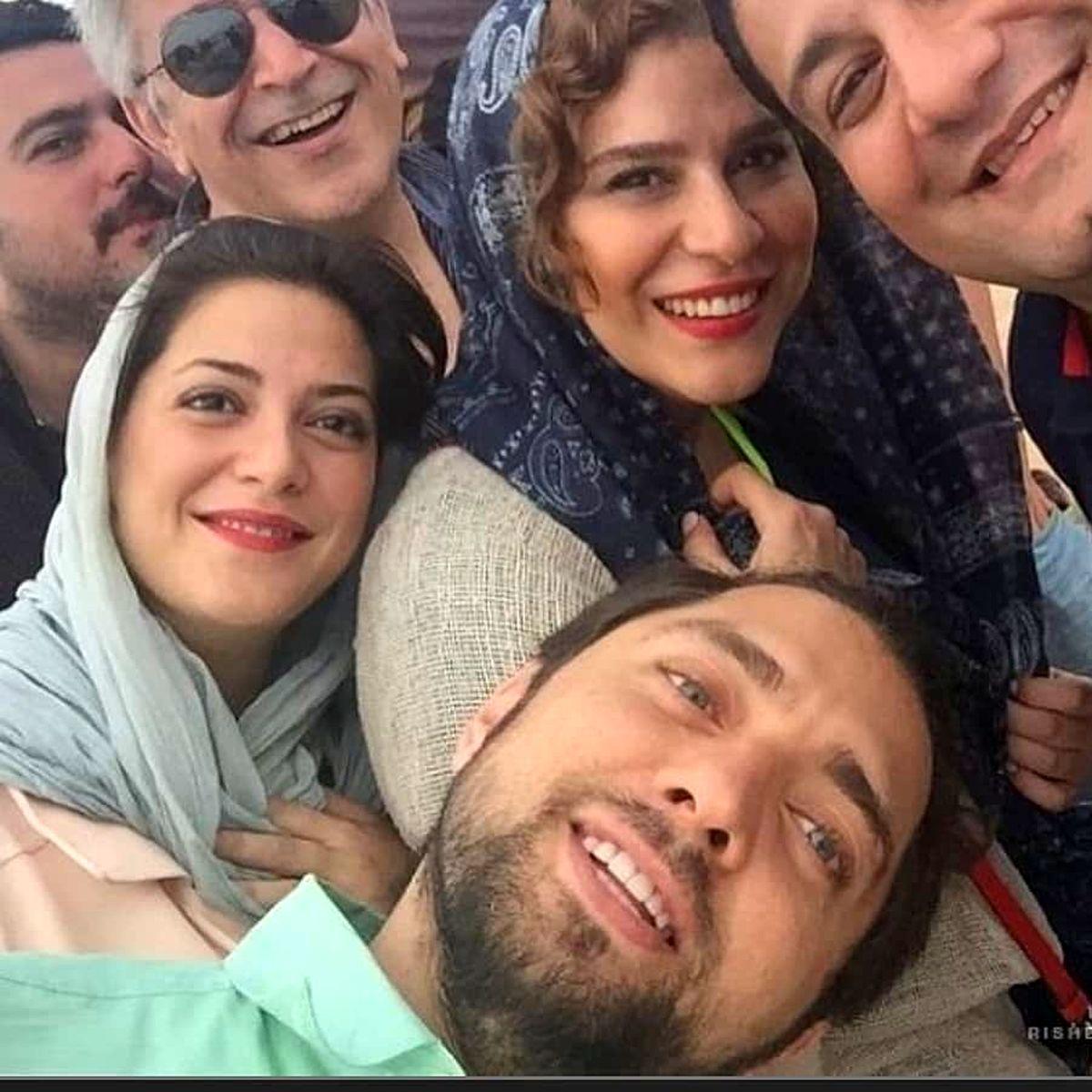 بهرام رادان در آغوش سحر دولتشاهی + عکس