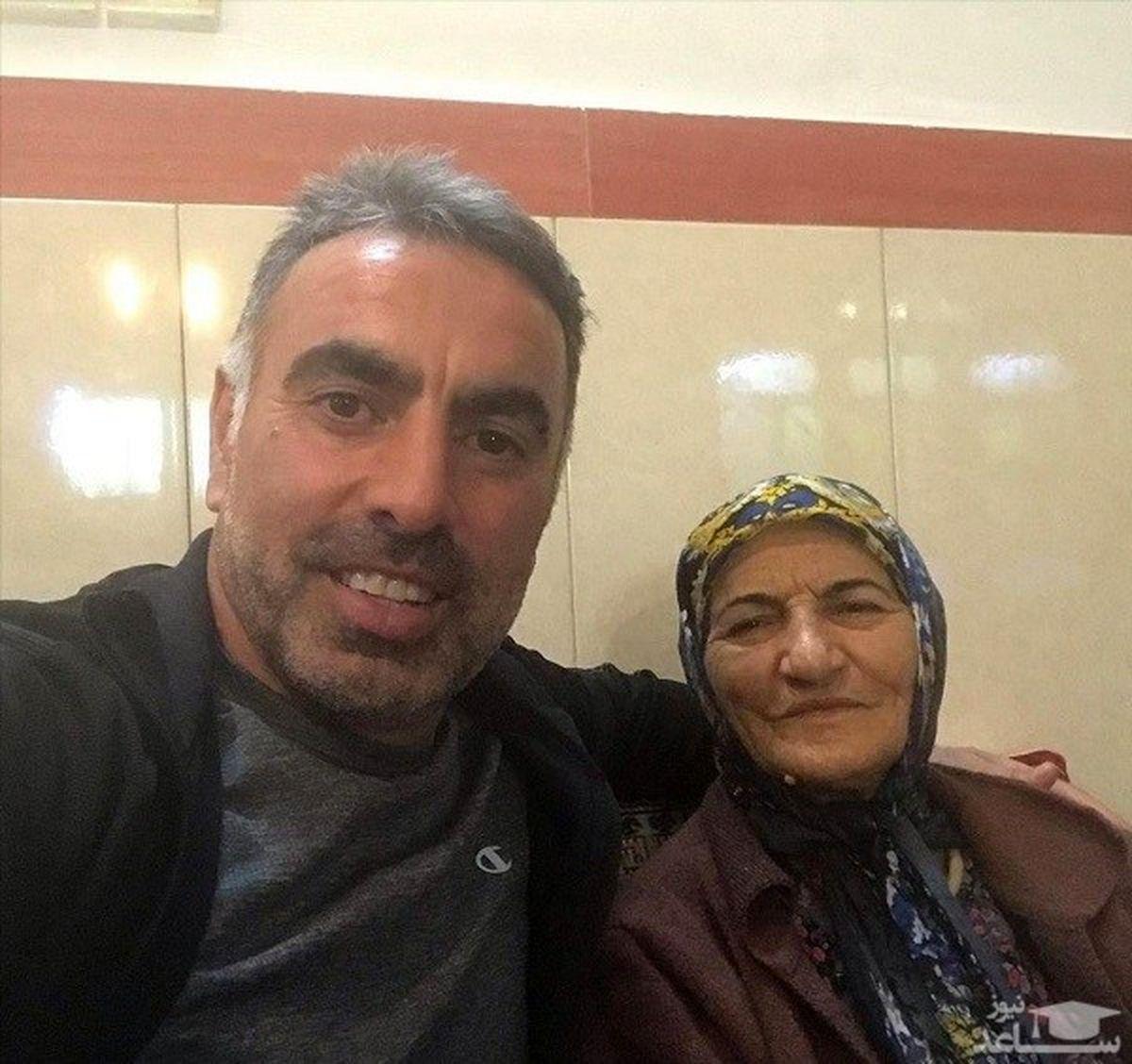 روابط خصوصی محمود فکری با همسرش + عکس