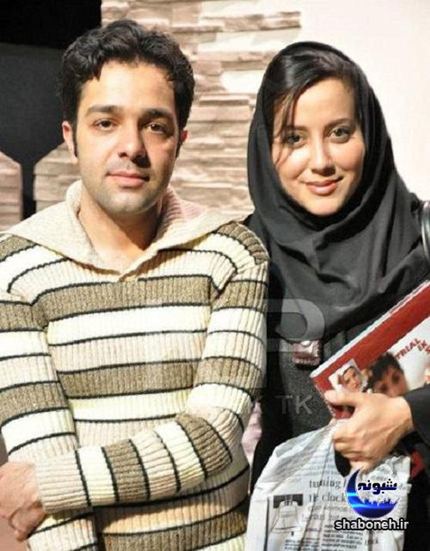 آشا محرابی و همسر جذابش + عکس