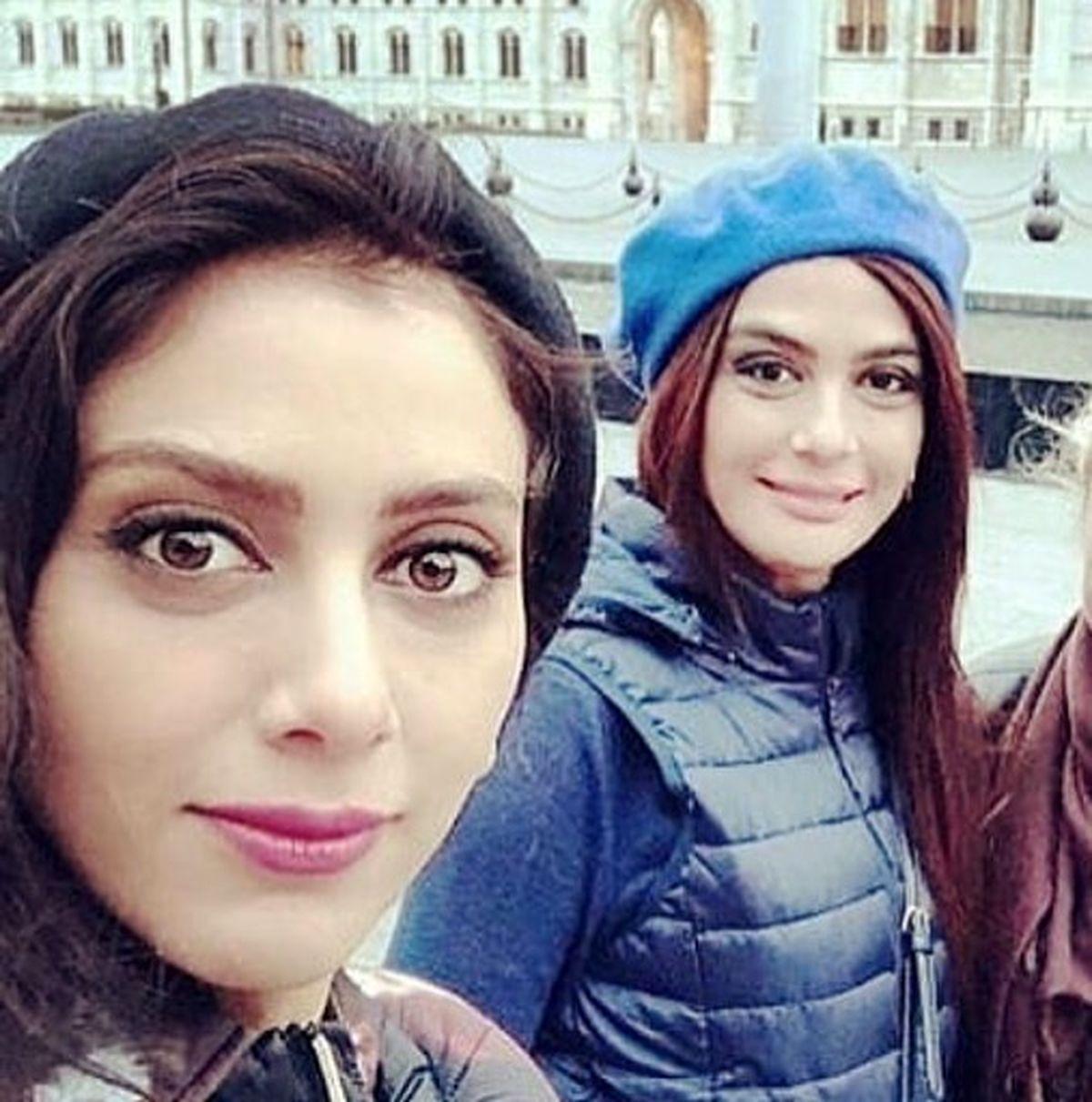 مارال فرجاد بدون حجاب در سفر خارجی + عکس