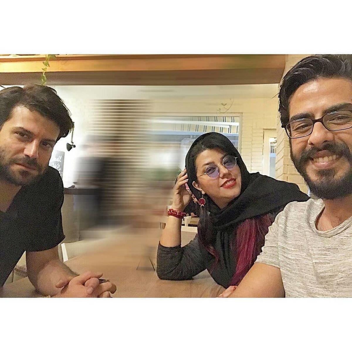 همسر سابق شهاب حسینی در یک رستوران! +عکس