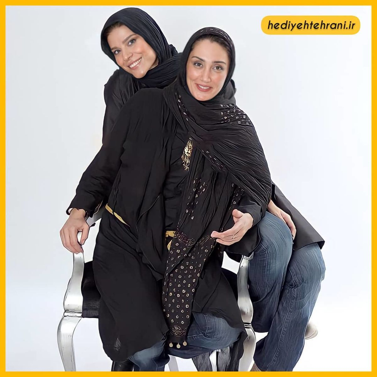 ژست دلبرانه هدیه تهرانی در آتلیه+عکس