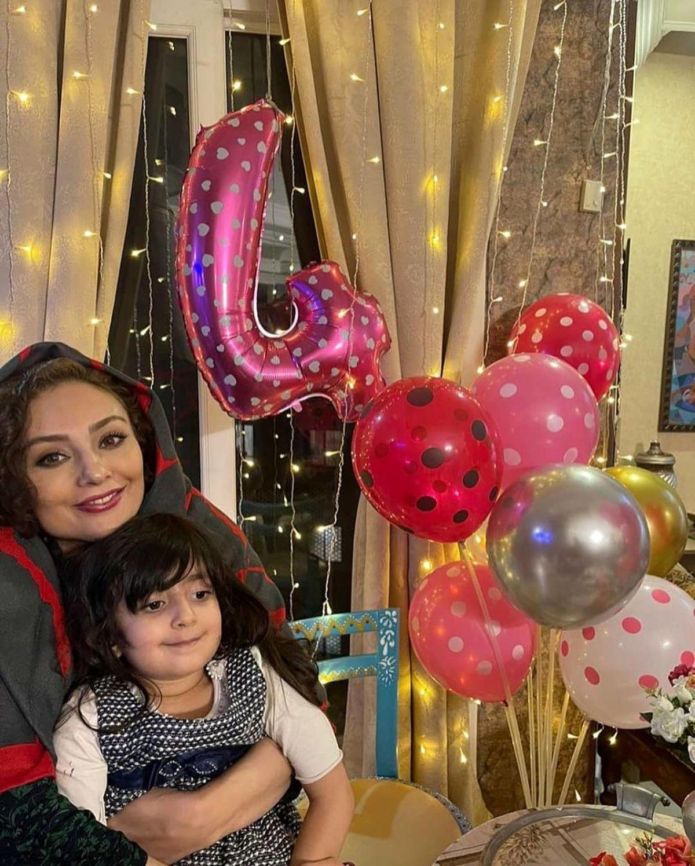 یکتا ناصر در جشن تولد خواهرزاده اش + عکس