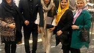 همسر علی دایی با بولیز و شلوار + عکس