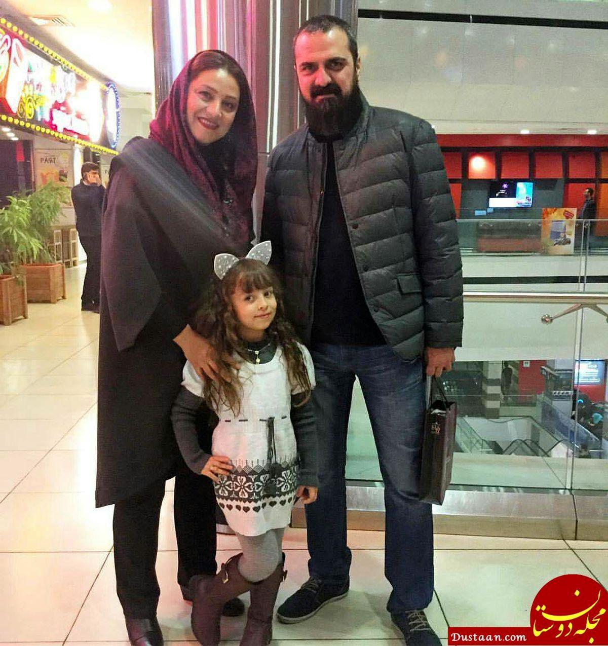شبنم مقدمی در آغوش همسرش+ عکس