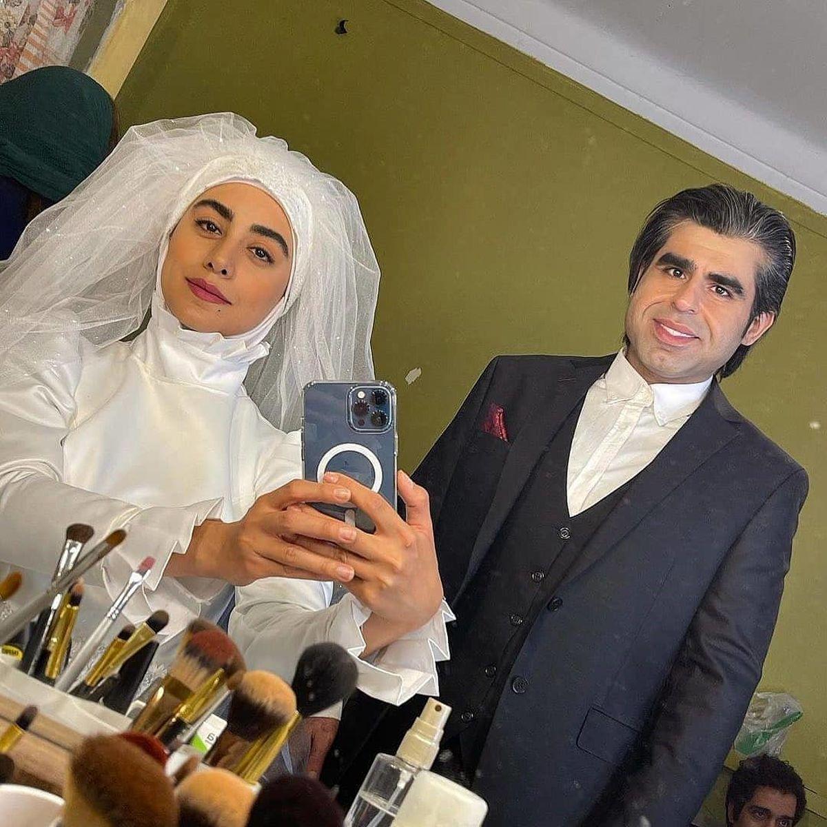 ازدواج امیر نوری بعد از لاغری + عکس در لباس دامادی