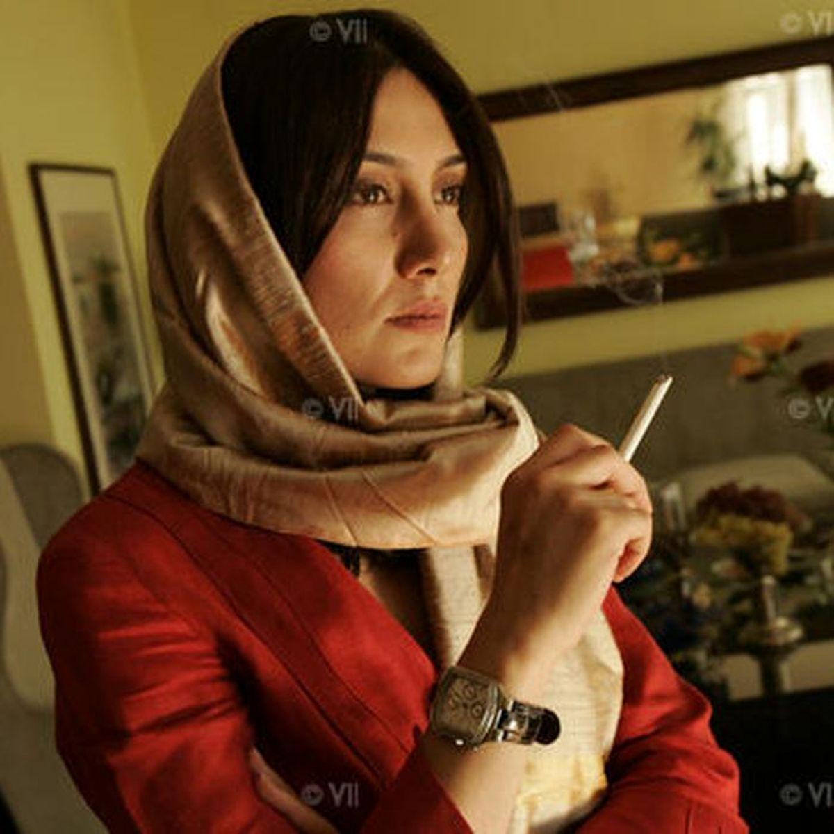 سیگاری و دودی شدن هدیه تهرانی + عکس