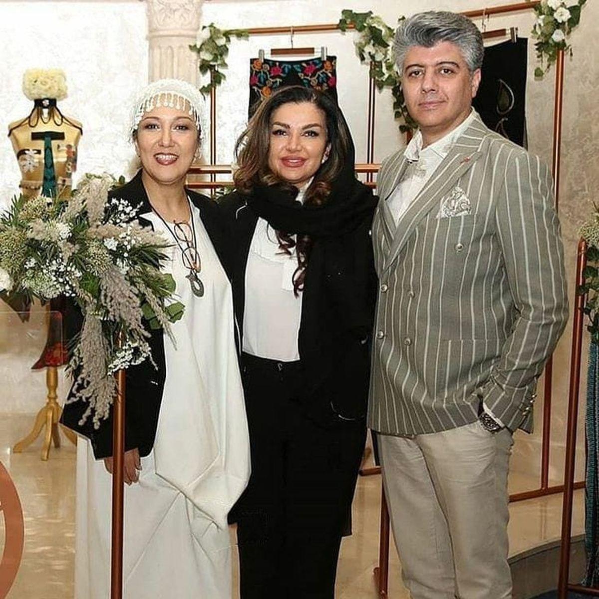 عکس بی حجاب پانته آ بهرام با لباسِ ناجور در یک میهمانی !