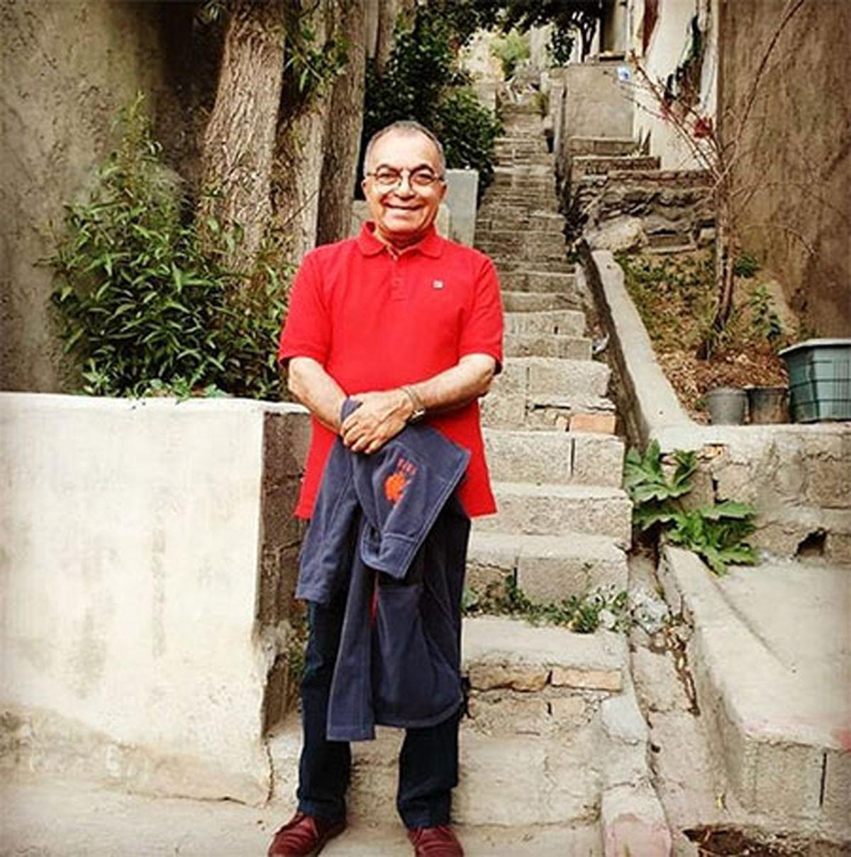 مسعود فروتن در خانه لوکس و زیبایش +عکس