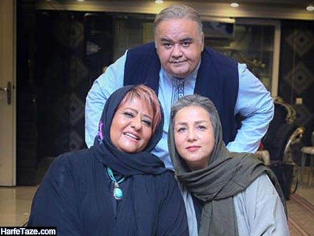 همسر جذاب اکبر عبدی + عکس