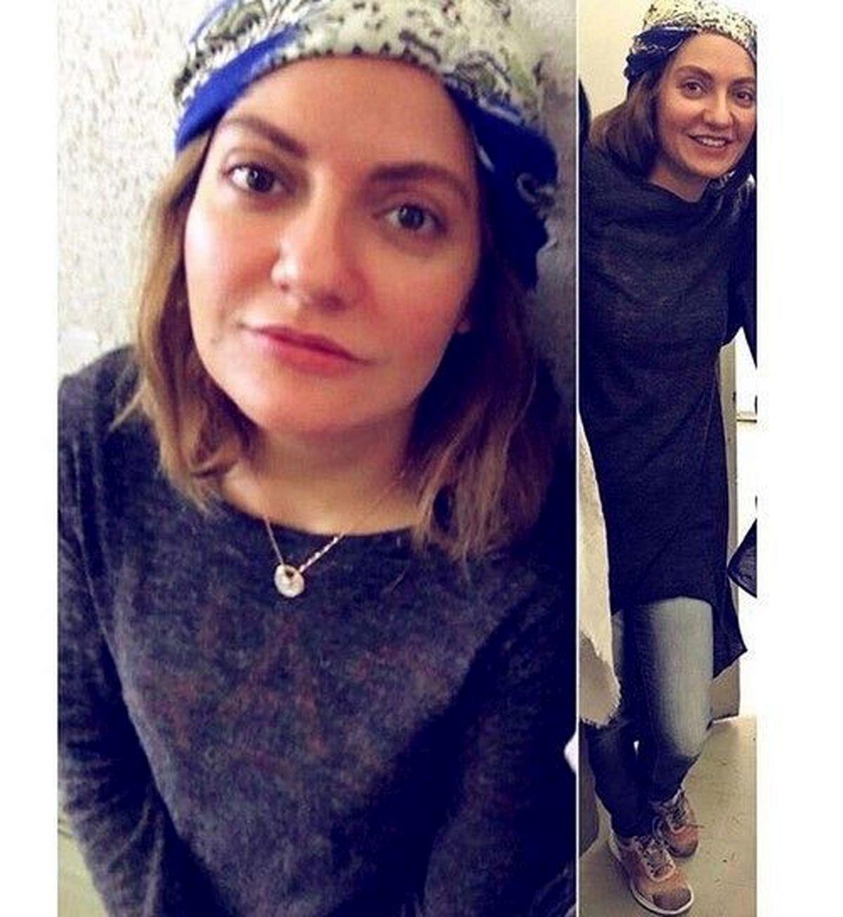 چهره و لباس عجیب مهناز افشار +عکس