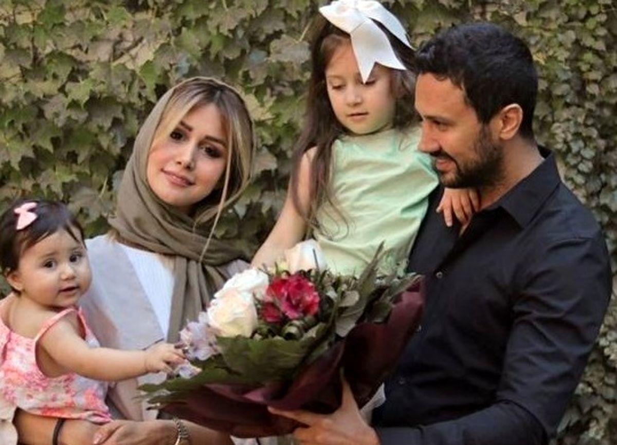 تفریح شاهرخ استخری و همسرش + عکس