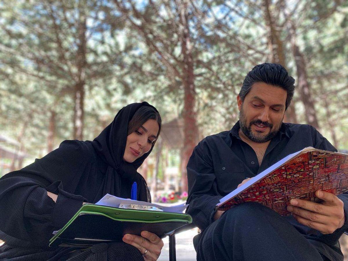 خوشگذرانی سحر دولتشاهی با حامد بهداد + عکس
