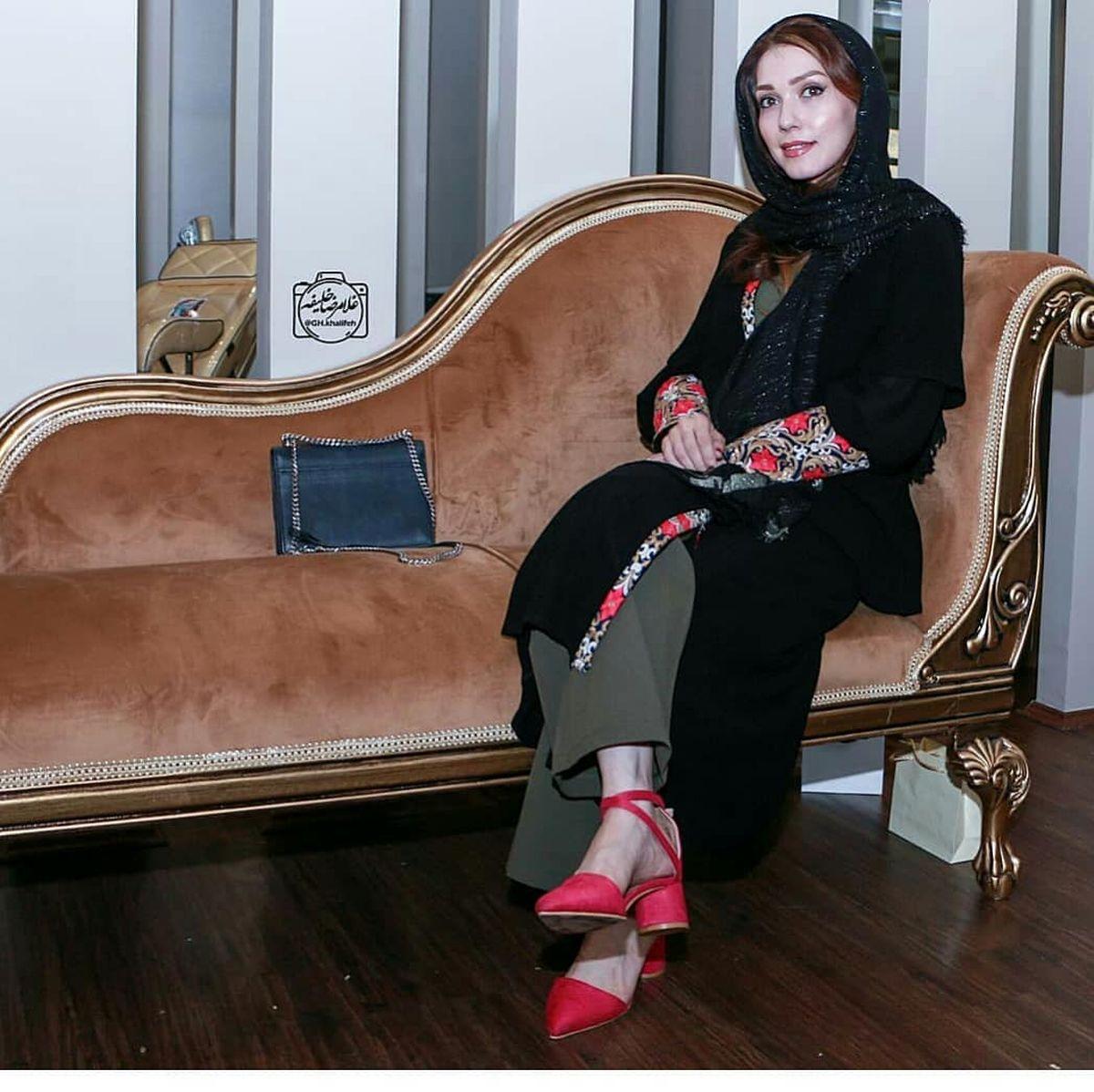 پاهای برهنه شهرزاد کمال زاده در تبلیغات +عکس