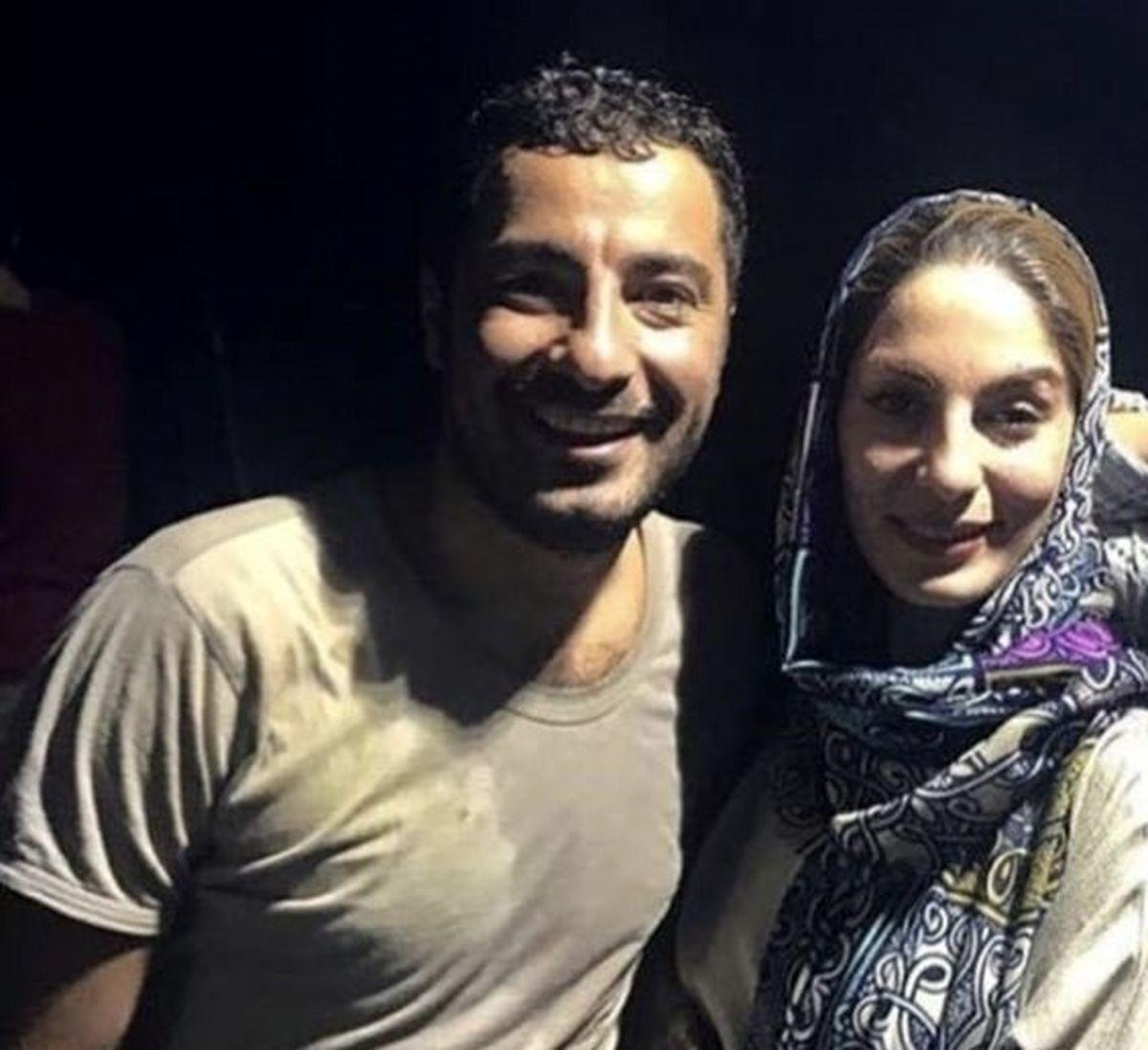 عکس دیده نشده نوید محمدزاده در کنار خواهرش لو رفت !