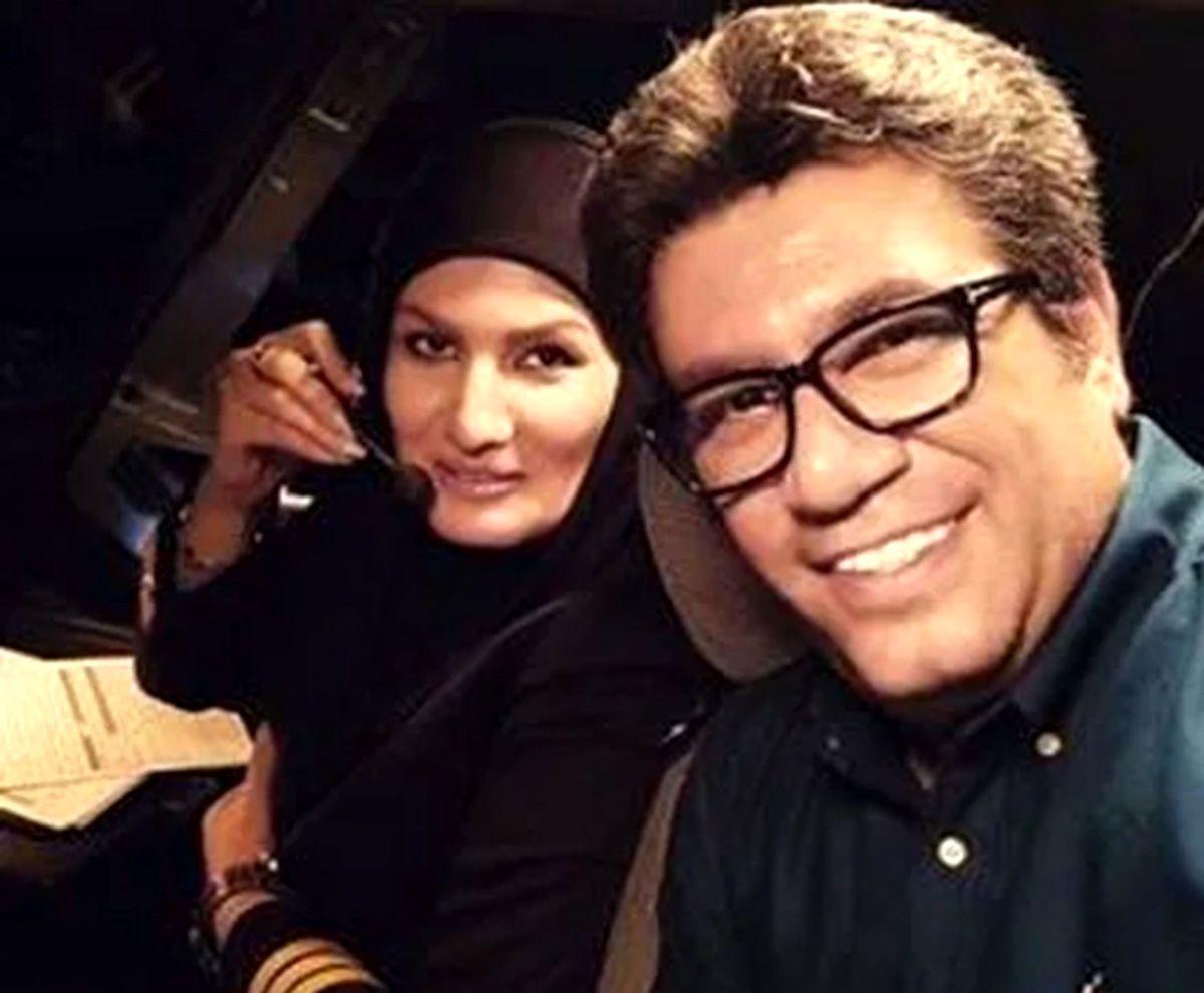 سلفی رضا رشیدپور با خانم جذاب/ رضا رشیدپور از همسرش طلاق گرفت؟+ عکس