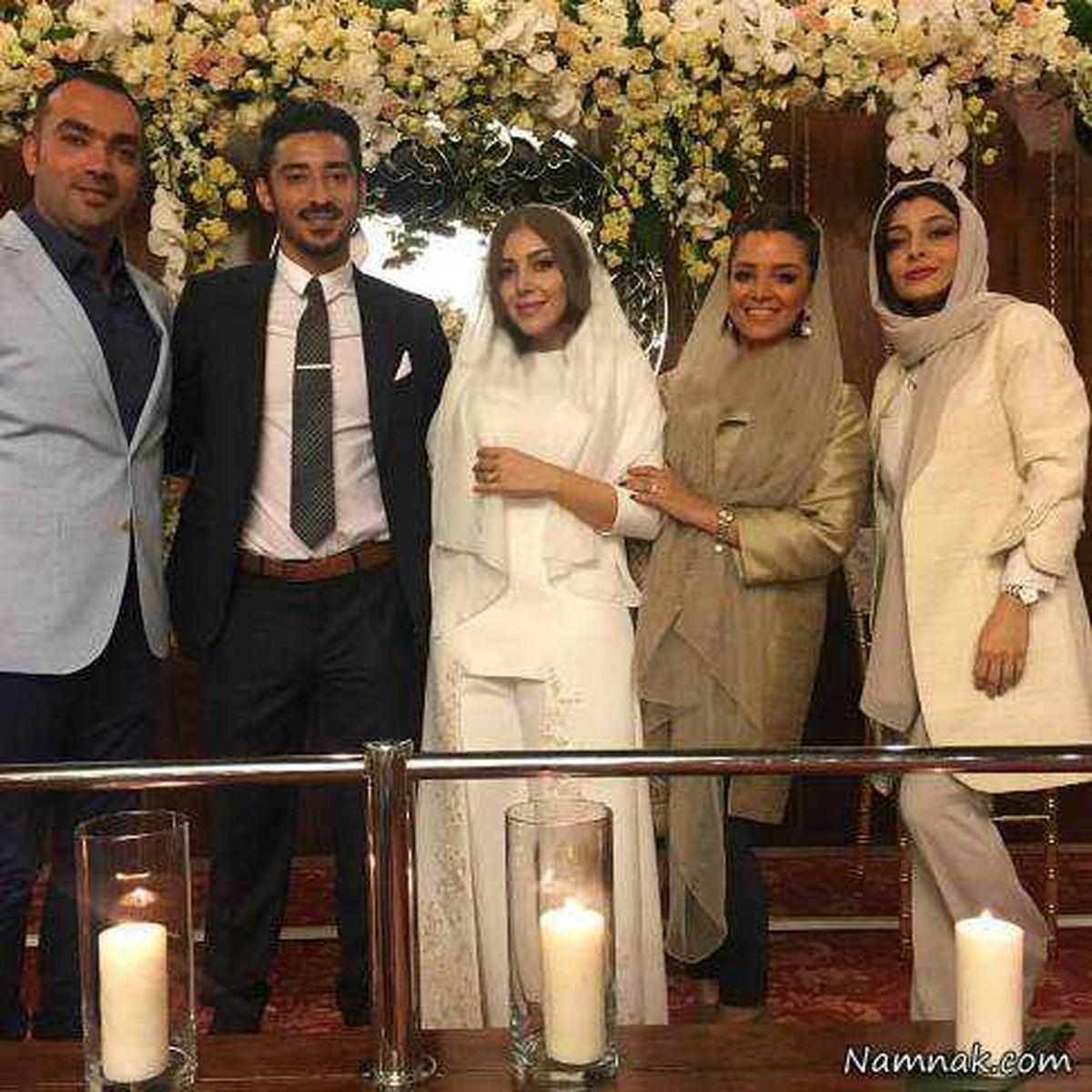 ماجرای ازدواج رضا قوچان نژاد با خواهر ساره بیات + عکس