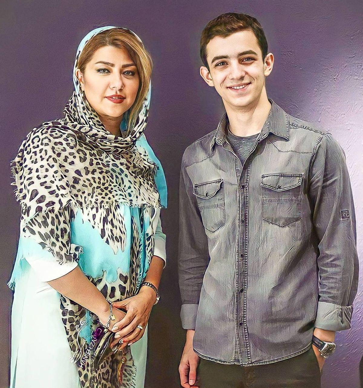 همسر شهاب حسینی قبل از جدایی و طلاق +عکس
