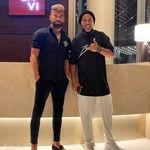 رامین رضائیان و رونالدینیو در هتل+عکس