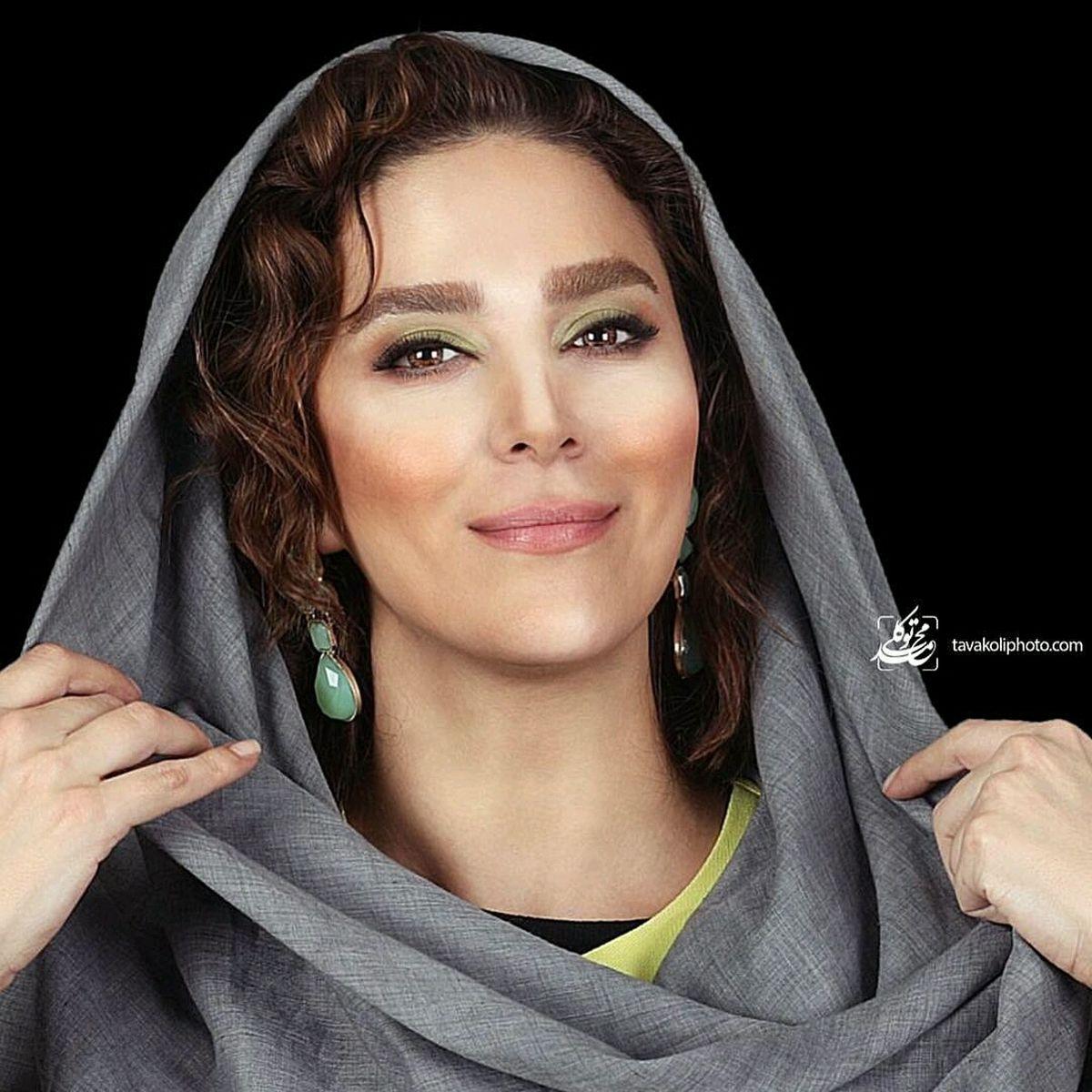 چهره عجیب سحر دولتشاهی با آرایش غلیظ + عکس