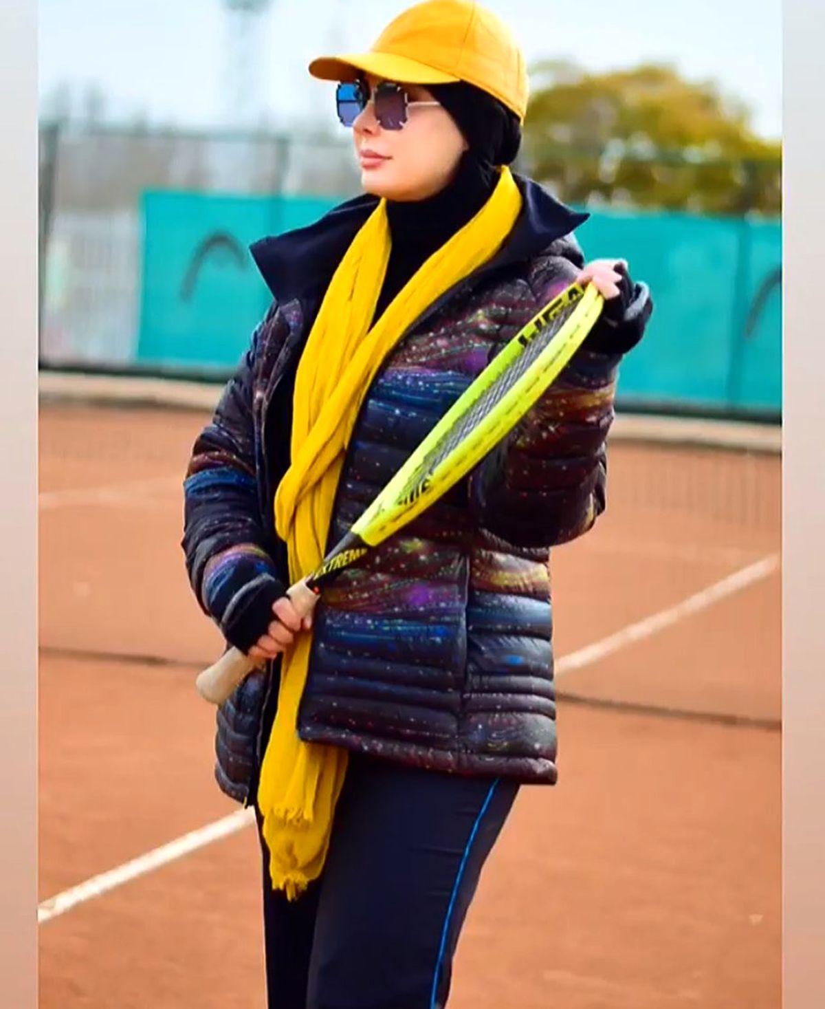 ورزش لاکچری نیوشا ضیغمی + عکس