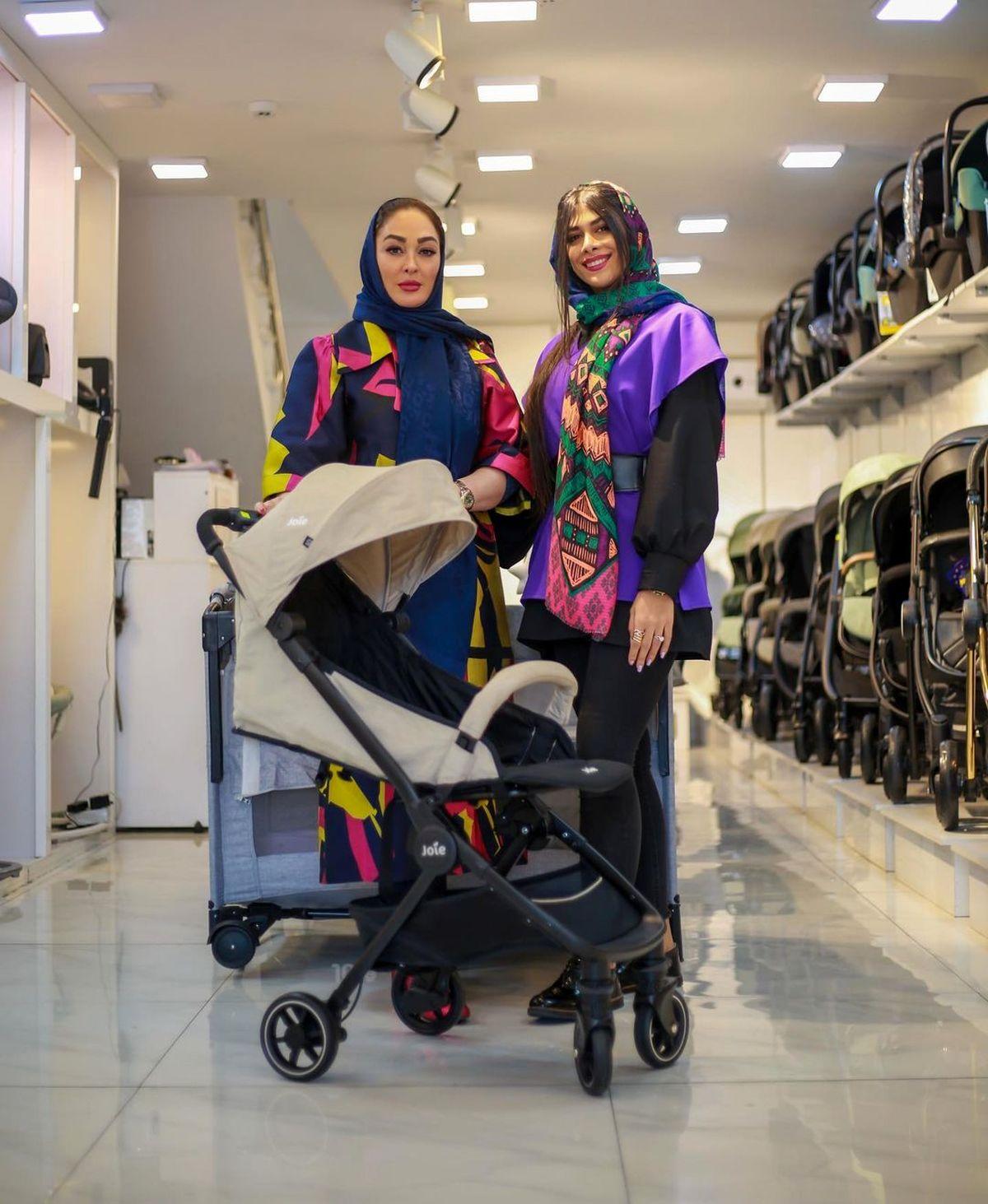 الهام حمیدی در مغازه ای لاکچری+عکس