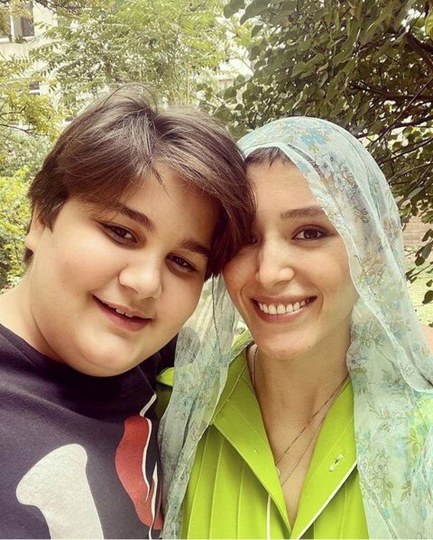 فرشته حسینی با یقه باز ! +عکس