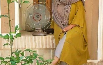 شلوار فوق کوتاه همسر شهاب حسینی +عکس