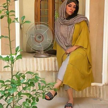 کوتاه ترین شلوار همسر شهاب حسینی +عکس
