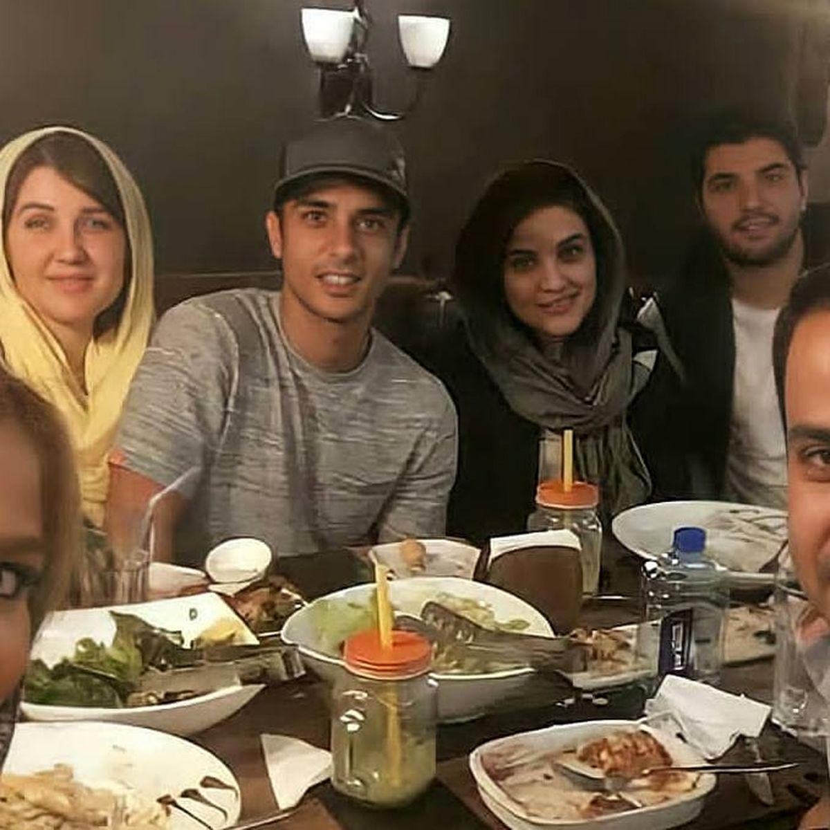 رستورانِ لاکچری ساعد سهیلی و خانواده اش + عکس