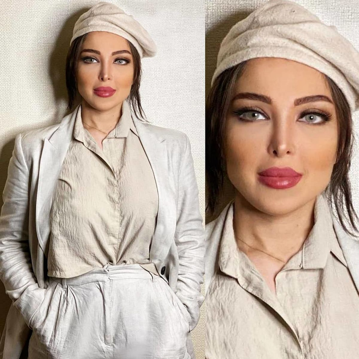 استایل همسر سپهر حیدری + عکس