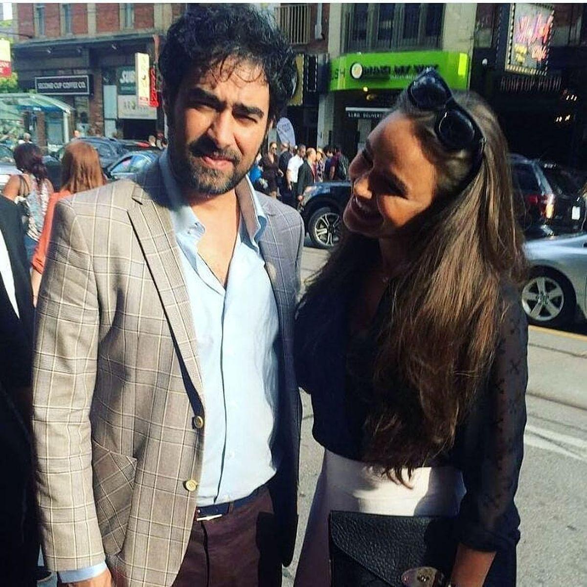 عکس ناجور شهاب حسینی با یک زنِ!