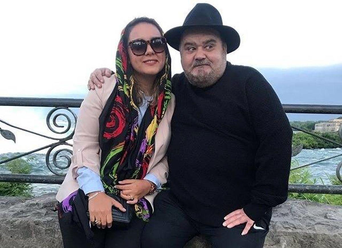 همسر دوم و جوان اکبر عبدی + عکس