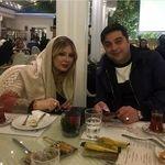 رستورانگردی نیوشا ضیغمی و همسرش + عکس