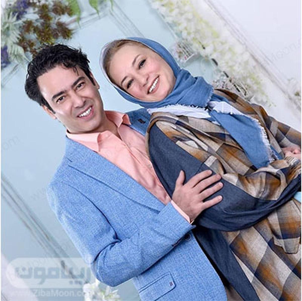سحر ولدبیگی در آغوش نیما فلاح/ آرایش غلیظ سحر ولدبیگی + عکس