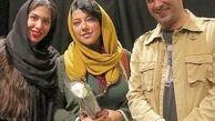همسر شهاب حسینی در آغوش یک مرد +عکس