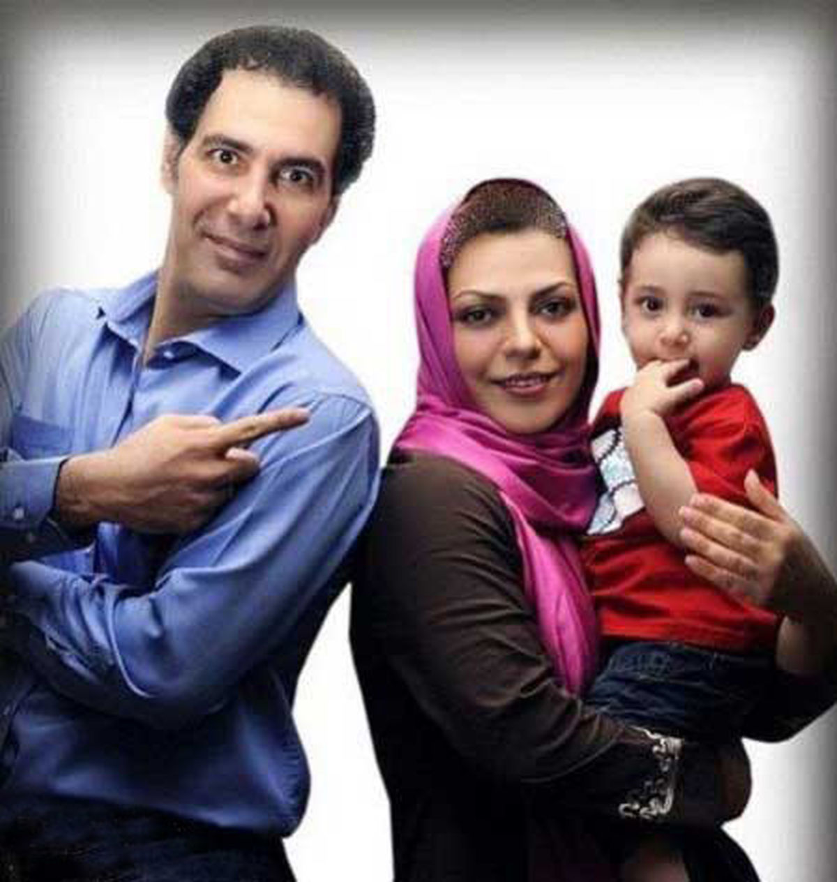همسر بی حجاب بهنام تشکر + عکس