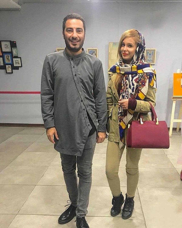 همسر مو طلایی نوید محمدزاده + عکس